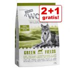 2 + 1 gratis! 3 x 1 kg Wolf of Wilderness Senior