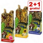 2 + 1 gratis! 3 x 2 Sticks JR Farm Farmy's Grainless Mix