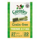 Greenies snacks para el cuidado dental - sin cereales