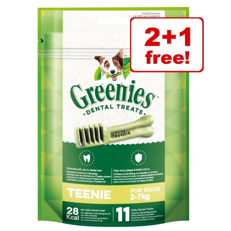 Greenies Canine Dental Chews - 2 + 1 Free!*