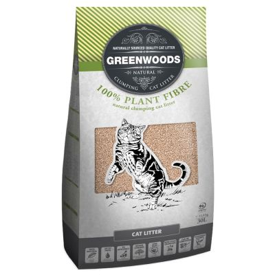 Greenwoods Natural Clumping Litter