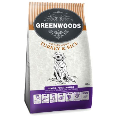 Greenwoods Senior / Light Turkey & Rice