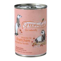 Greenwoods Wet Food for Ferrets – Beef & Chicken