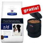 Großgebinde Hill's Prescription Diet + Trixie Futtertonne gratis!