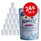 Happy Cat Pouch All Meat 24 x 85 g