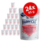 Happy Cat Pouch Kød i sauce 24 x 85 g