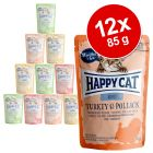 Happy Cat Pouch Mix 12 x 85 g