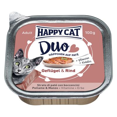 Happy Cat Duo 24 x 100 g