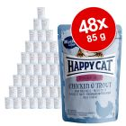 Happy Cat Pouch All Meat 48 x 85 g