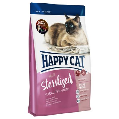 Happy Cat Sterilised Manzo delle Prealpi