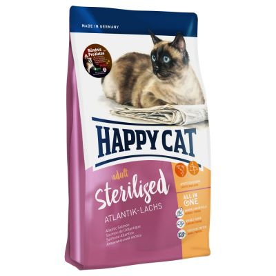 Happy Cat Sterilised Salmone dell'Atlantico