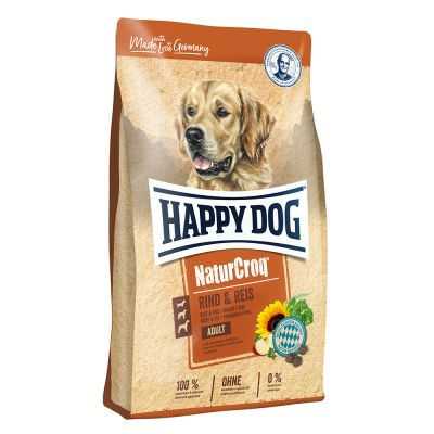 Happy Dog NaturCroq Okse & Ris