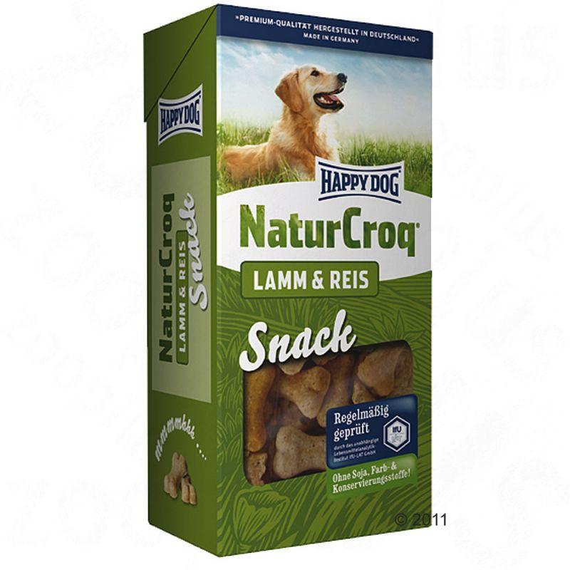 Happy Dog NaturCroq Snack Lamm & ris