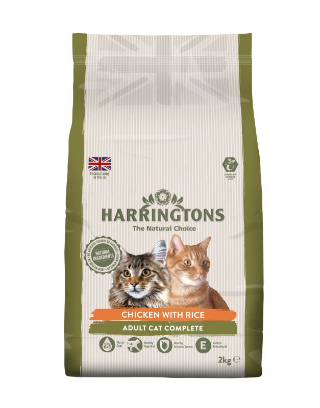 Harringtons Complete Cat – Chicken with Rice
