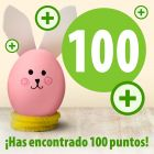 ¡Has encontrado 100 puntos zooplus!