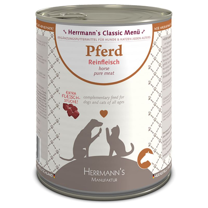 Herrmanns Pure Meat Sensitive 6 x 400 g / 800 g