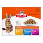 Hill's Feline Chunks in Gravy Multipack Pouches 12 x 85g