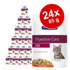 Hill's Prescription Diet comida húmida para gatos 24 x 85 g - Pack económico