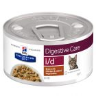 Hill's Prescription Diet i/d Digestive Care estufado com frango para gatos