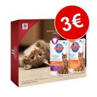 Hill's Science Plan 4 x 85 g para gatos en pack de prueba ¡por solo 3€!