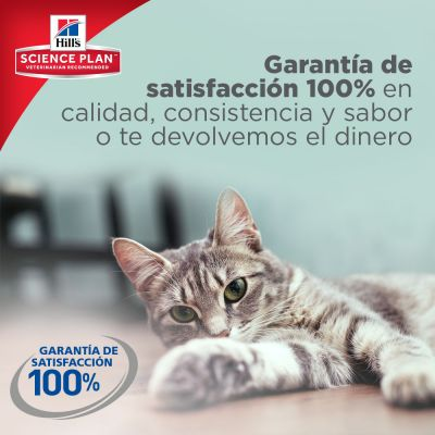 Hill's Adult Light con atún para gatos