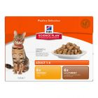 Hill's Adult Optimal Care 12 x 85 g para gatos - Pack mixto