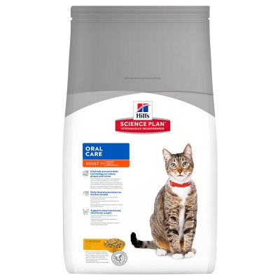 Hill's Adult Oral Care con pollo para gatos