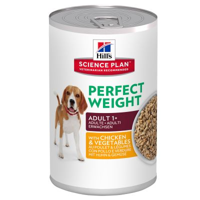 Hill's Adult Perfect Weight Science Plan latas para perros