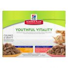 Hill's Adult 7+ Youthful Vitality en sobres para gatos
