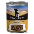 Hill's Canine Ideal Balance Adult 6 x 363 g