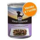 Hill's Canine Ideal Balance Adult 1 x 363 g pour chien