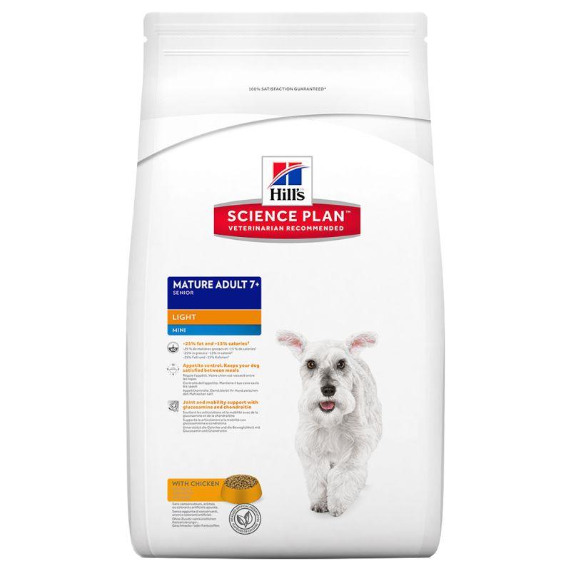 Hill's Canine Mature Adult Light 7+ Mini Chicken
