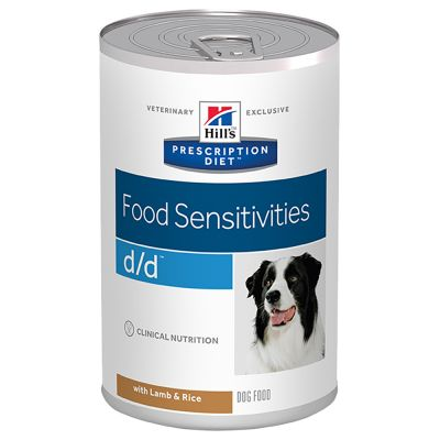 Hill's d/d Prescription Diet Food Sensitivities latas para perros