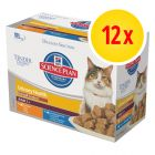 Hill's Feline Adult Urinary & Hairball Control 12 x 85 g