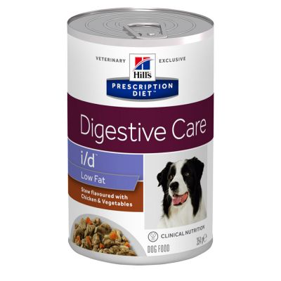 Hill's i/d Low Fat Prescription Diet Digestive Care estofado para perros