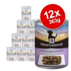 Hill's Ideal Balance Wet Dog Food Saver Packs 12 x 363g