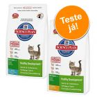 Hill's Kitten Healthy Development 2 x 400g - Pack de experimentação misto