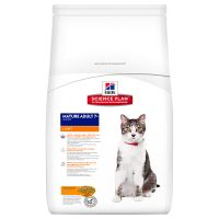 Hill's Mature Adult 7+ Light con pollo para gatos