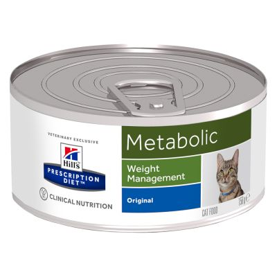 Hill's Metabolic Prescription Diet latas para gatos