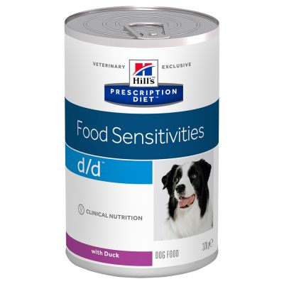 Hill's Prescription Diet Canine D/D Allergy & Skin Care Hondenvoer