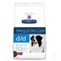 Hill's Prescription Diet Canine D/D Allergy & Skin Care Hondenvoer met Eend & Rijst