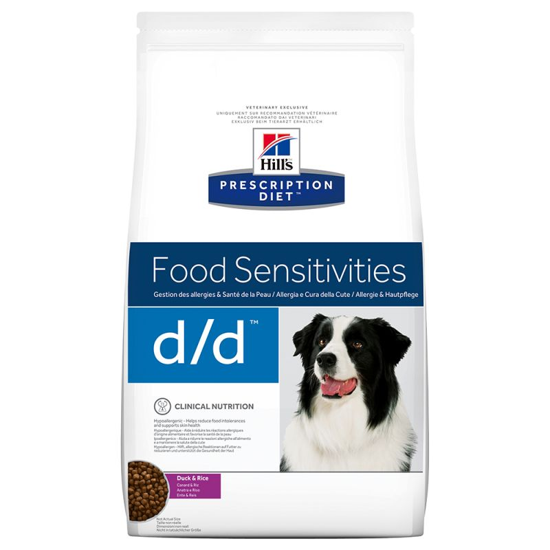 Hill's Prescription Diet Canine d/d Food Sensitivities - ankka-riisi