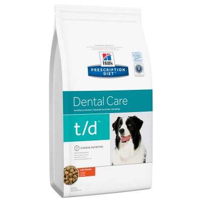 Hill's Prescription Diet Canine T/D Dental Care Hondenvoer met Kip