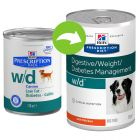 Hill's Prescription Diet Canine w/d Low Fat Hondenvoer met Kip