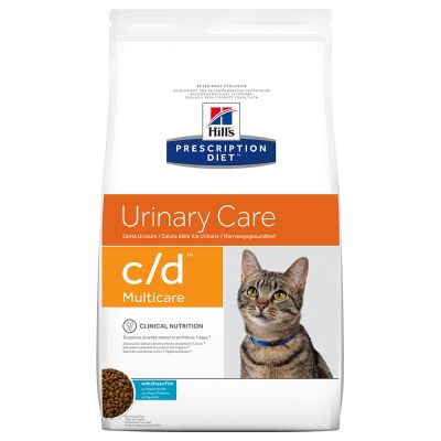 Hill's Prescription Diet c/d Multicare Urinary Care com peixe do oceano