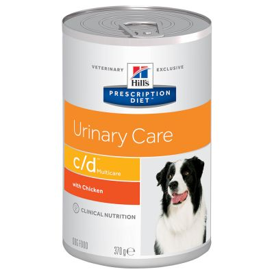 Hill's Prescription Diet c/d Multicare Urinary Care csirke kutyatáp