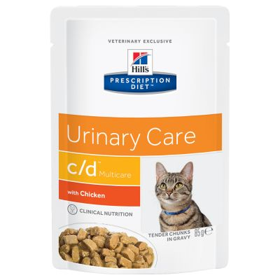 Hill's Prescription Diet c/d Multicare Urinary Care Hrană pisici, cu pui