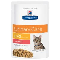 Hill's Prescription Diet c/d Multicare Urinary Care Katzenfutter mit Lachs