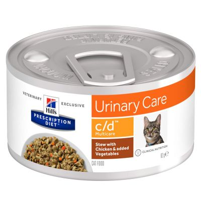 Hill´s Prescription Diet c/d Multicare Urinary Care Stew cu pui Hrană pisici