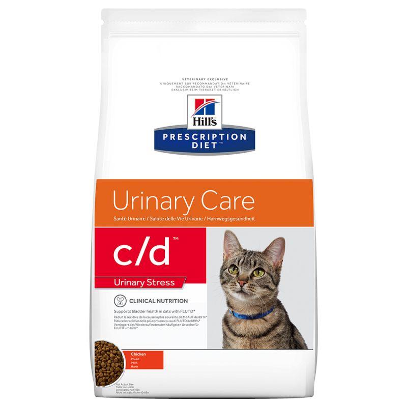 Hill's Prescription Diet c/d Urinary Stress Urinary Care com frango